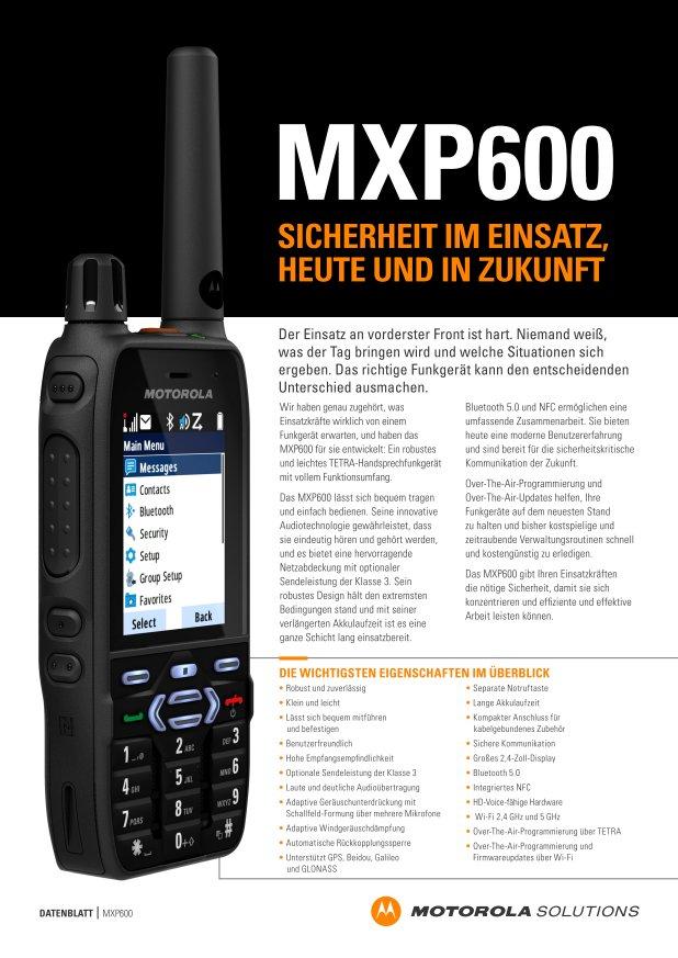 MXP Datenblatt